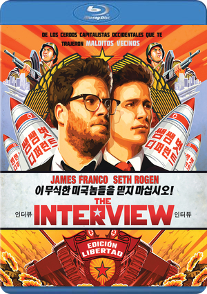 the interview (blu-ray)-8414533092210
