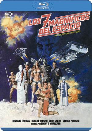los siete  magnificos del espacio (blu-ray)-8436548869205