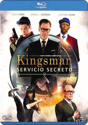 kingsman: servicio secreto - blu ray ---8420266974501