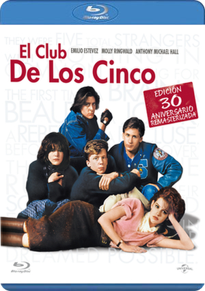 el club de los cinco: ed.remasterizada (blu-ray)-8414906123473