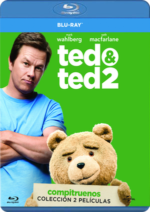 pack ted (ted + ted 2) (blu-ray)-8414906917379