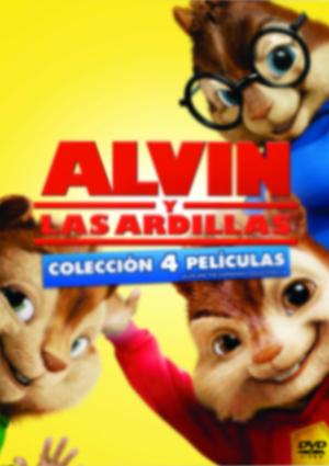 alvin y las ardillas 1-4 (dvd)-8420266976567