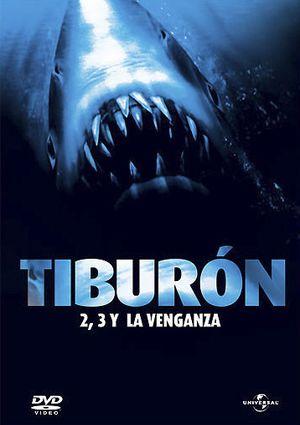 tiburon (trilogia) (partes 2+3+4).(dvd)-5050582730715