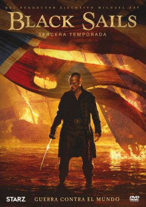 black sails: temporada 3 (dvd)-8420266005724