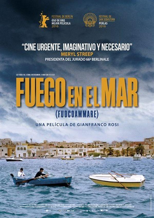 fuego en el mar (dvd)-8436564161734
