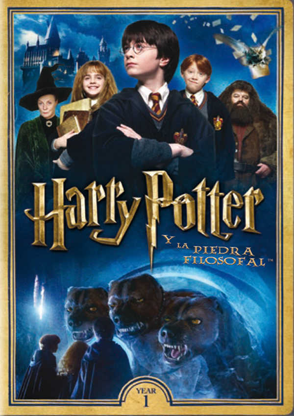 harry potter y la piedra filosofal - dvd --8420266007087