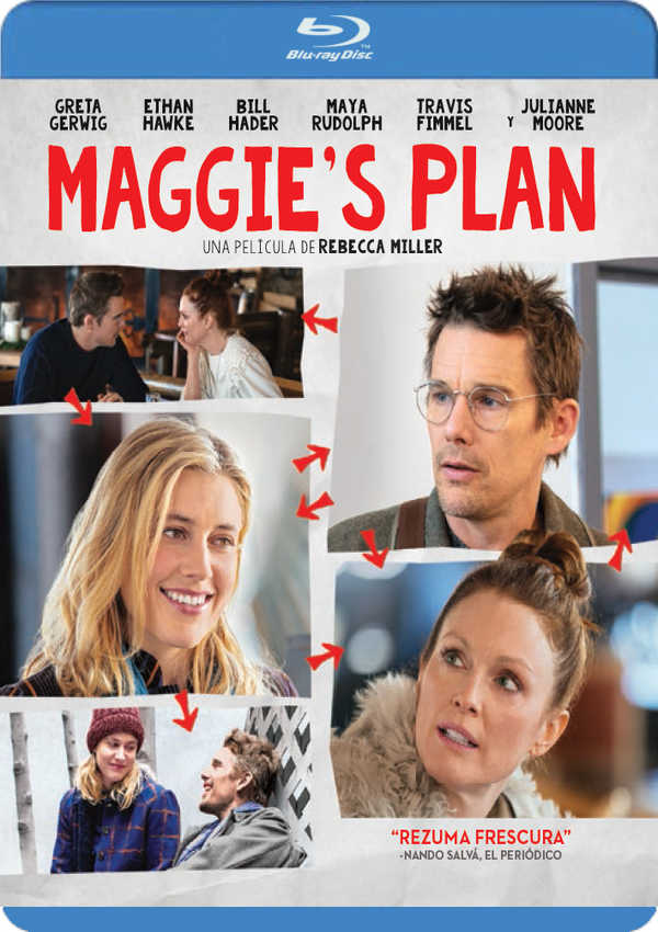 maggie s plan - blu ray --8414533104197