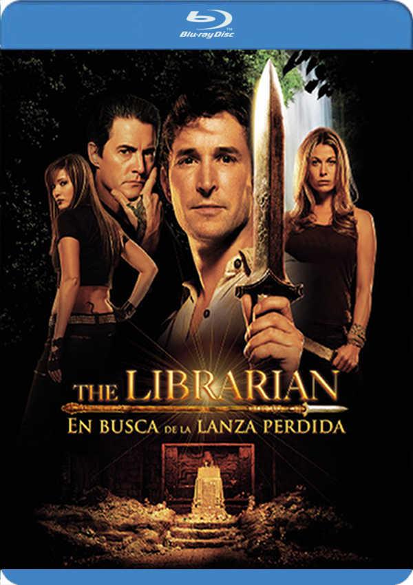 el bibliotecario. en busca de la lanza perdida - blu ray --8420266006202