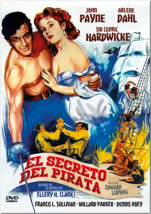 el secreto del pirata - dvd --8436569301418