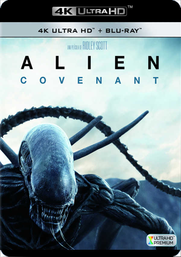 alien covenant - 4k uhd + blu ray --8420266010520
