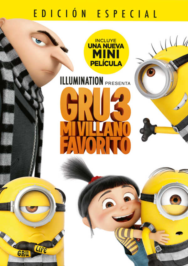 gru 3 mi villano favorito - dvd --8414533108133
