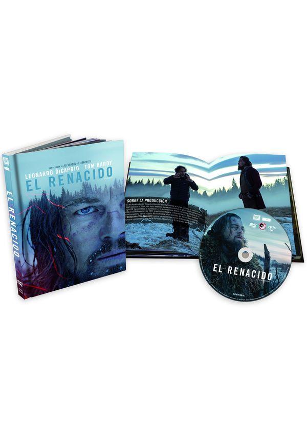el renacido - dvd - digibook-8420266009715