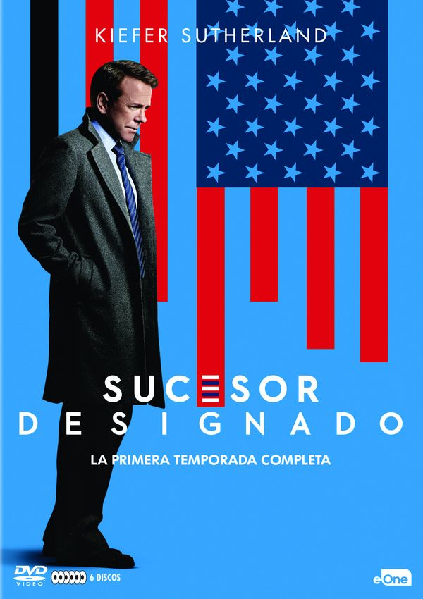 sucesor designado - dvd - temporada 1-8435175972999