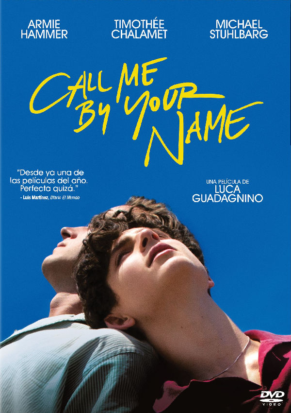 call me by your name - dvd --8414533111973