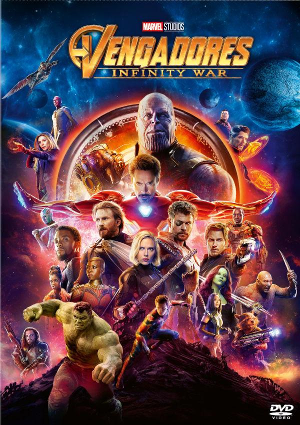 vengadores infinity war - dvd --8717418528027