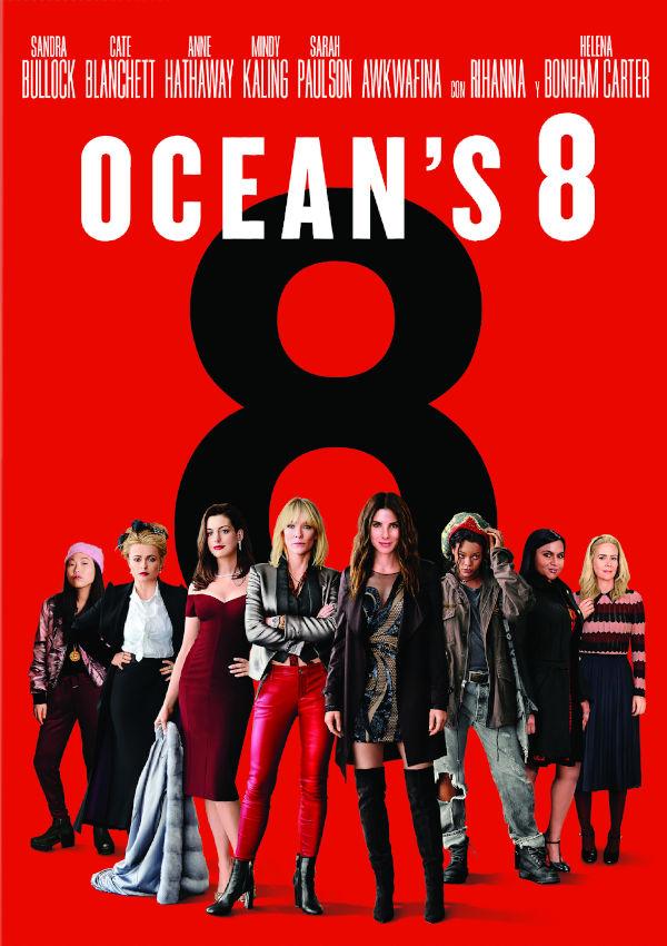 ocean s eight - dvd --8420266017543