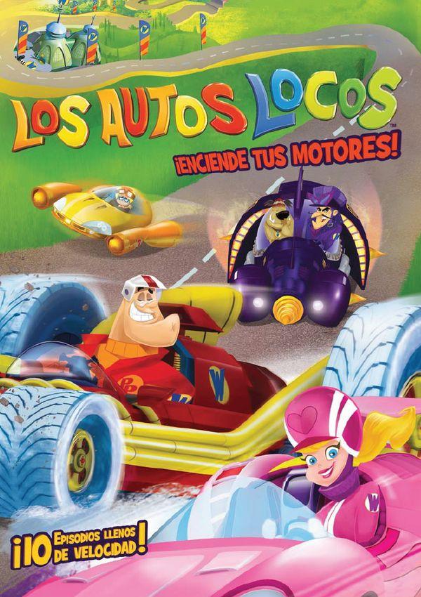 los autos locos - dvd - temporada 1 parte 1-8420266017444
