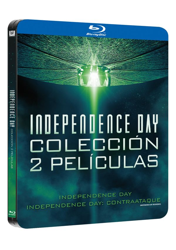 pack independence day 1+2 black metal edition - blu ray --8420266020635