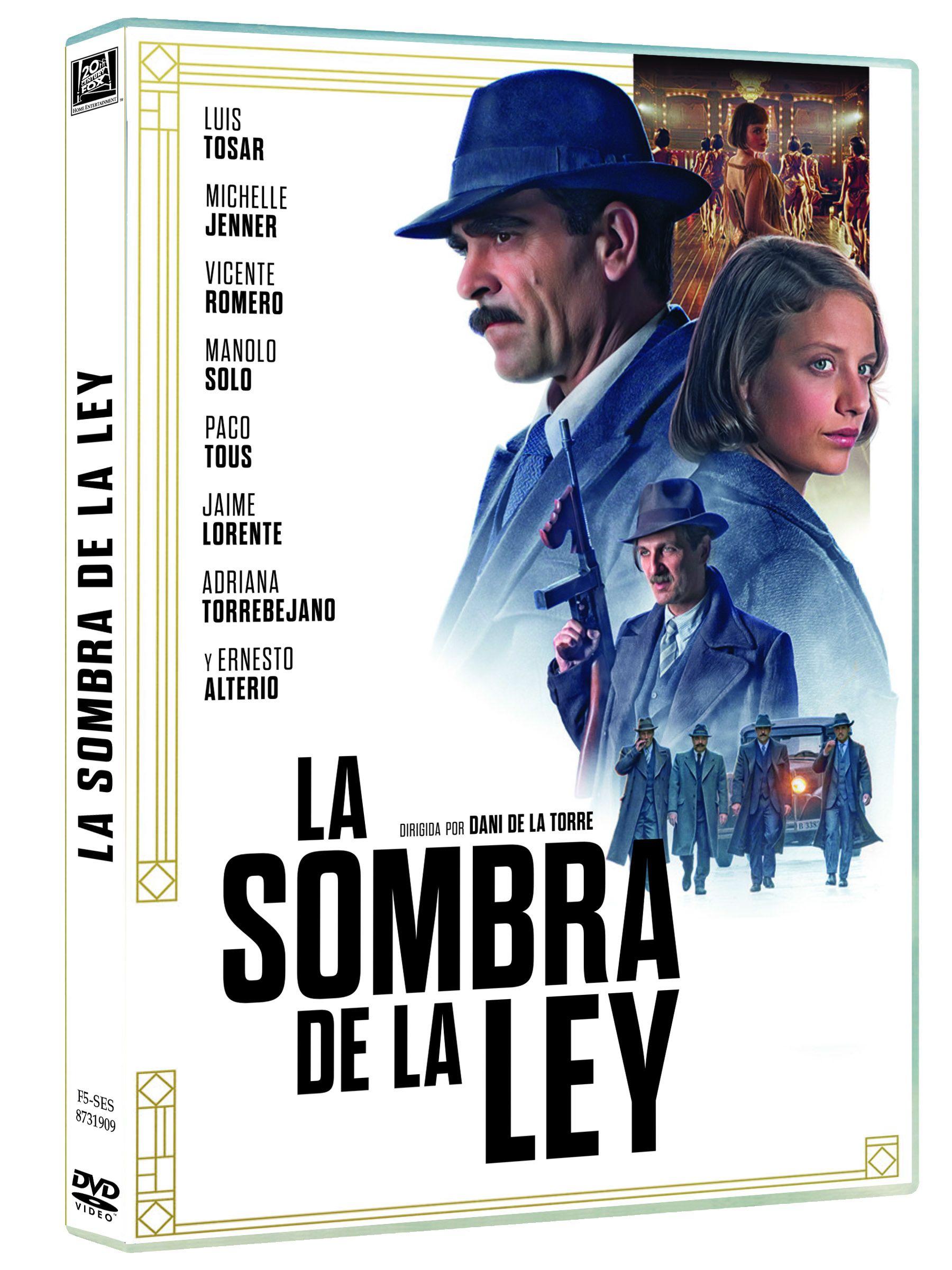 la sombra de la ley - dvd --8420266020802
