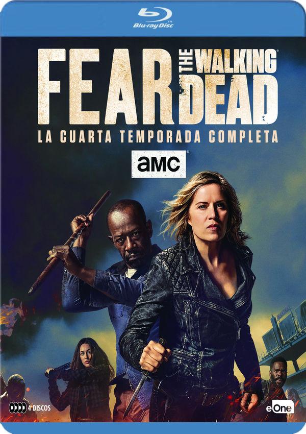 FEAR THE WALKING DEAD - BLU RAY - TEMPORADA 4 de Dave Erickson ...