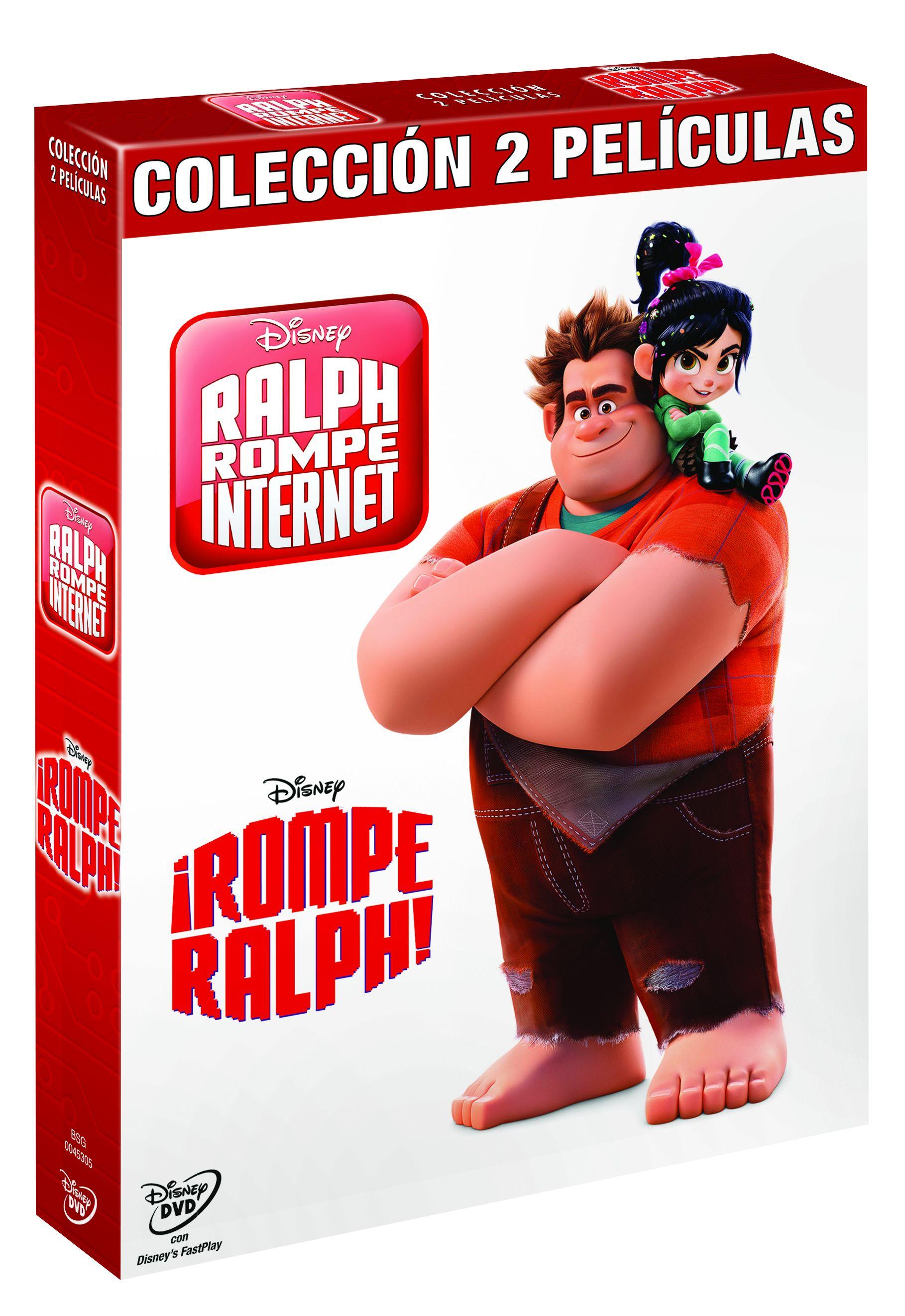 pack rompe ralph 1+2 - dvd --8717418542344