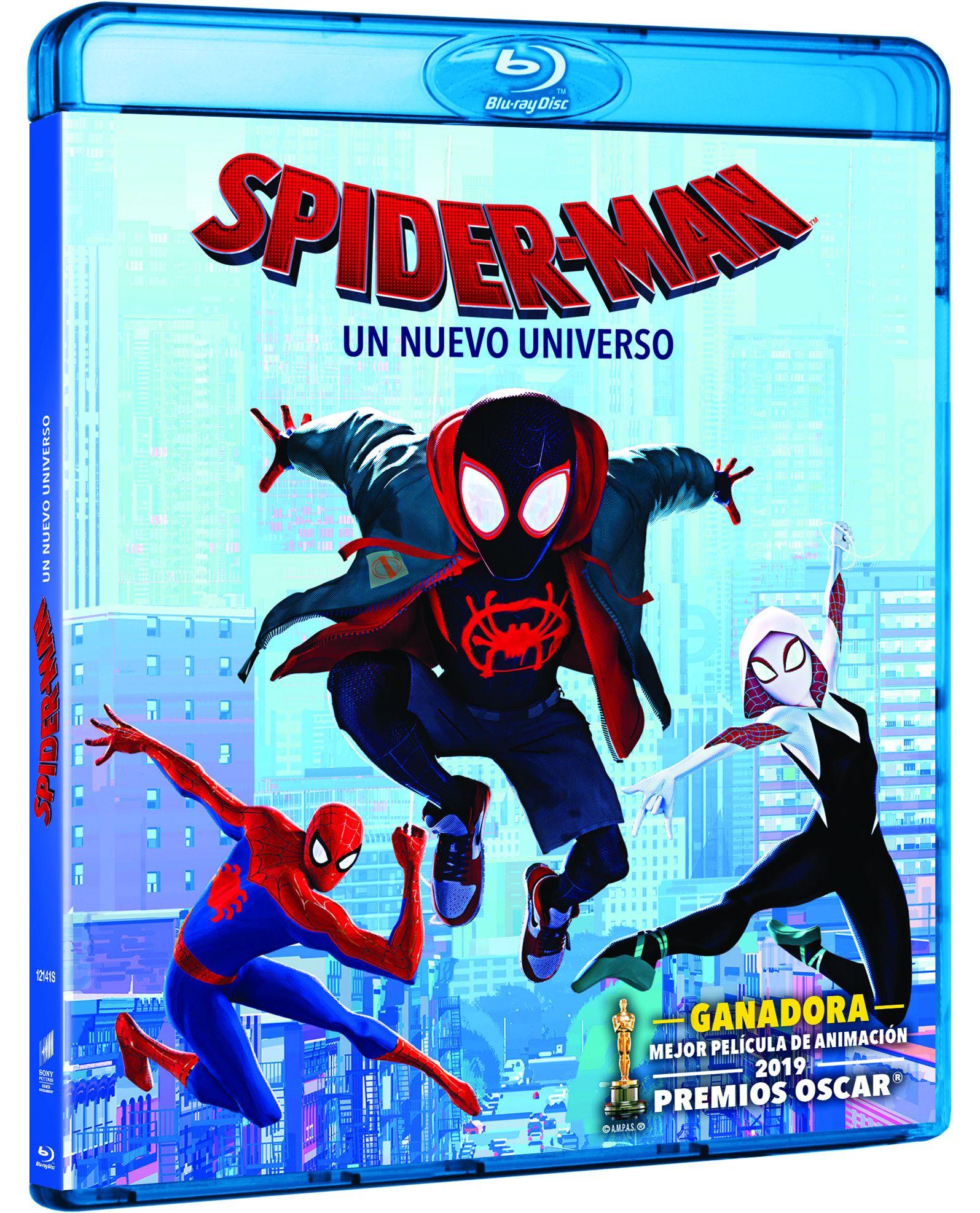 spider-man: un nuevo universo - blu ray --8414533121415
