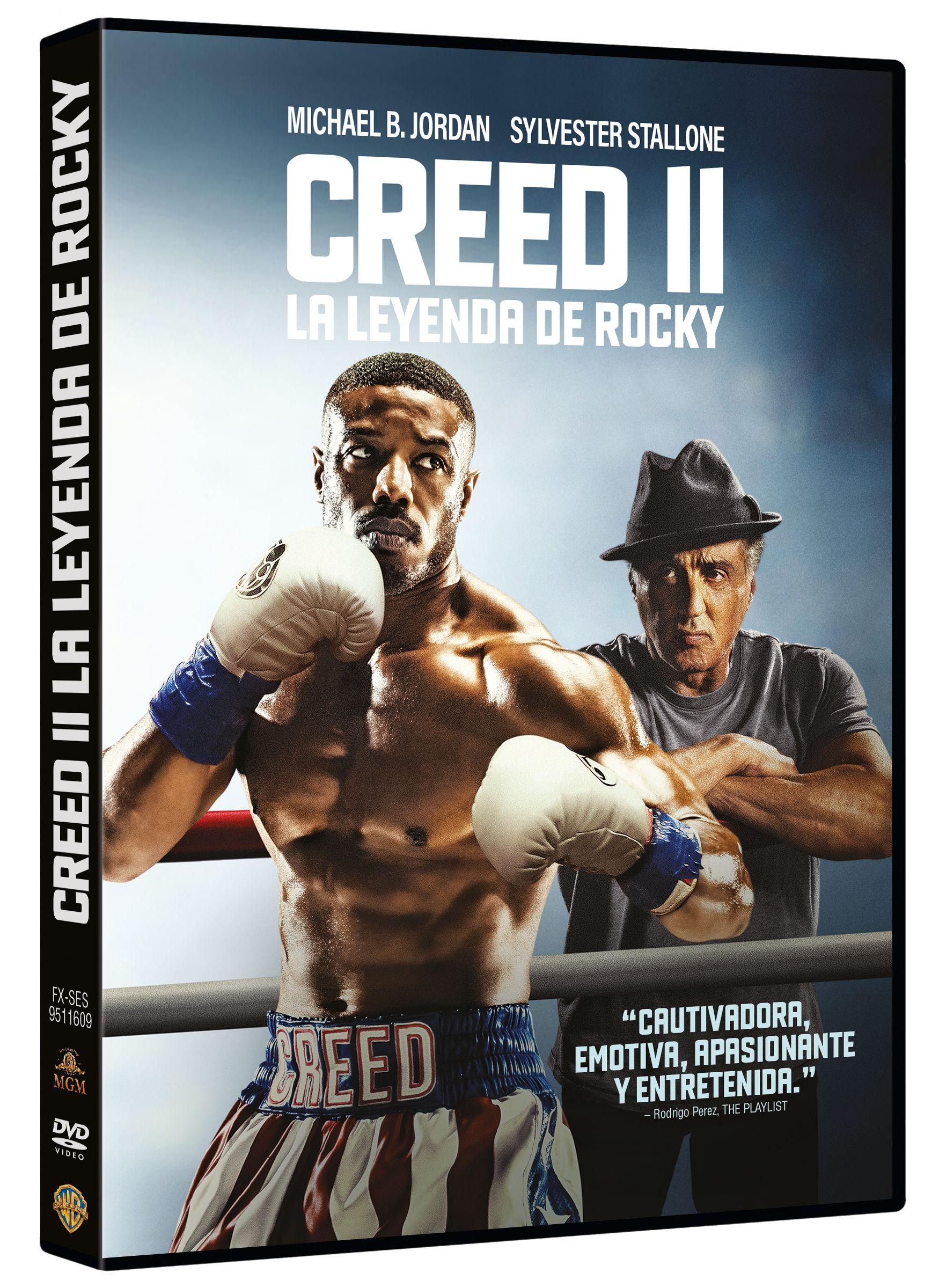 creed ii - dvd --8420266022493