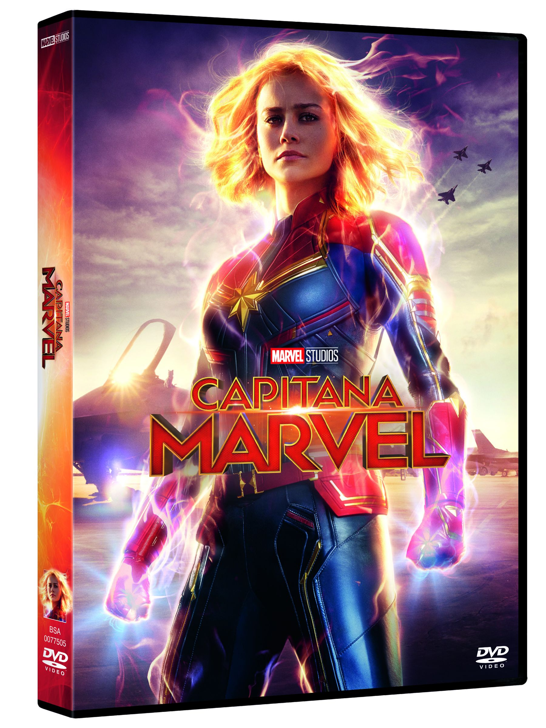 capitana marvel - dvd --8717418542900