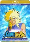 saint seiya movie 3. la leyenda del joven escarlata (blu-ray)-8420266104489