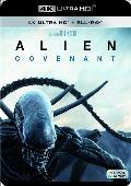 alien covenant - 4k uhd + blu ray --8420266010520